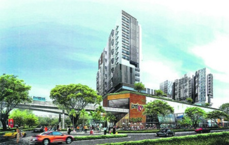 The Tennery, at the Woodlands Road/Bukit Panjang Road crossroad.