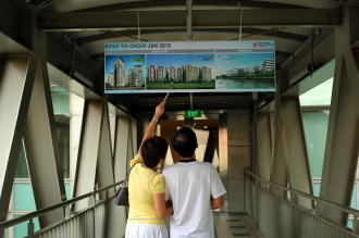 Ratio of HDB dwellers buying private homes dips