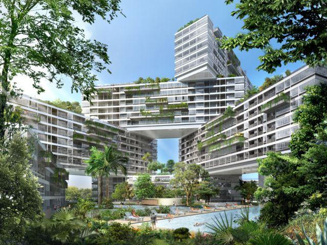 The Interlace 公寓项目