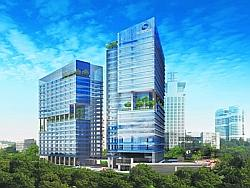 Grade A office: The $820m project in one-north will have net lettable area of 1.04m sq ft. Ho Bee is eyeing MNCs that have R&D facilities in the area as tenants