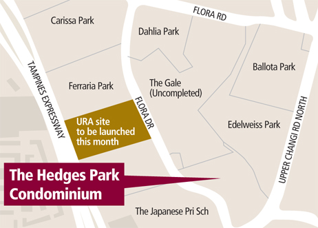 Hedges Park sales to start later this week