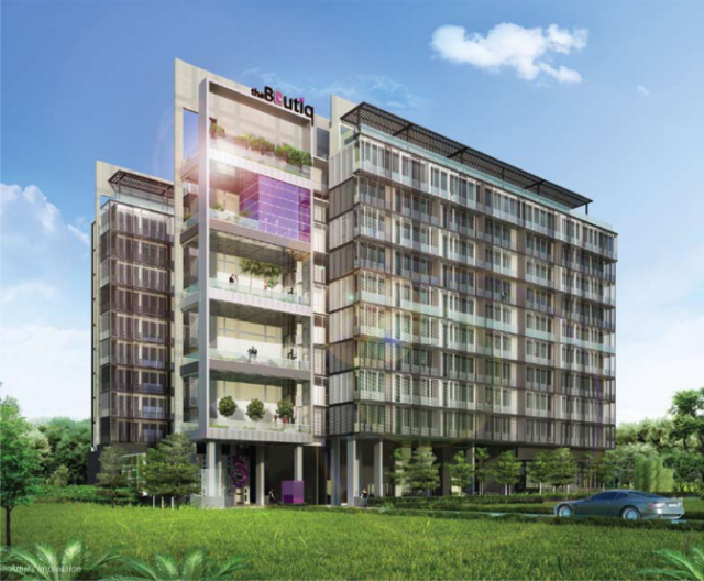 The Boutiq: The residential project's architectural design draws inspiration from chic boutique hotels around the world