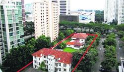 Marked for sale: The bungalow was built in 1898 by Choa Kim Keat, after whom Kim Keat Road in Balestier is named