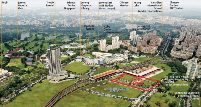 CapitaLand highest bidder for Jurong 'white site'